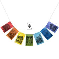 Small Prayer Flags Modern Prayer Flags For Campers Hikers Rock Climbers Hammock Lovers