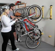 wall bike storage ideas garage with helmets selving home