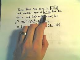 finding all the zeros of a polynomial example 1 youtube