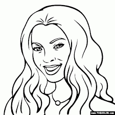 nicki minaj coloring pages nicki minaj color number coloring page