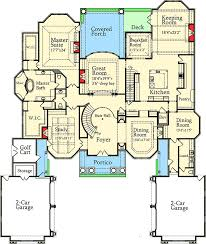 luxury kitchen floor plans luxury with stately courtyard entry 7203ds architectural