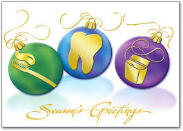 dental winter themed postcards benco