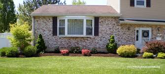 image of easy landscaping ideas for front house small on a budget