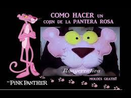 como hacer mascaras en forma de rosa pantera rosa almohada hecha a mano manualidades fáciles