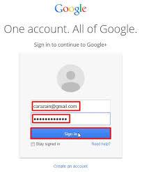buat akun google bru cara membuat akun google plus gratis daftar terbaru cara zain
