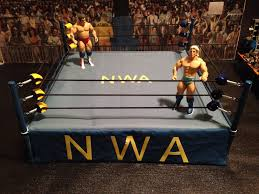 nwa wrestling ring for mattels jakks wrestlingfigs com wwe