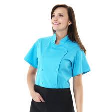 veste cuisine femme manche courte veste de cuisine à manches courtes pour femme lilli lotus blanc