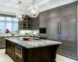 gray brown stained kitchen cabinets the psychology of why gray kitchen cabinets are so popular