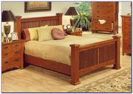 Mission Style Bedroom Furniture Sets Mission Style Oak Bedroom Set Bedroom Home Design Ideas
