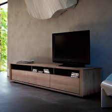 Bedroom Tv Unit Furniture Ethnicraft Shadow Oak Tv Unit Solid Wood Furniture Low Down