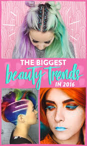 8 of the biggest beauty trends in 2016 so far