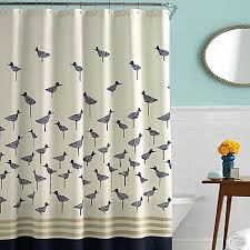 Bed Bath Beyond New York Kate Spade New York Sandpiper 72 Inch X 72 Inch Fabric Shower