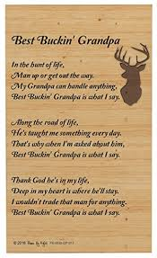 amazon com grandpa gifts for christmas best buckin grandpa poem
