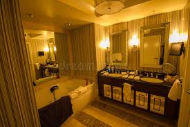 chambre etats unis chambre d hôtel de luxe de salle de bains à las vegas etats unis