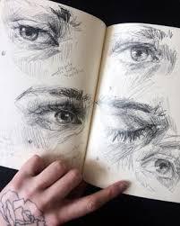 makeup artist sketchbook elly smallwood photo drawing elly smallwood