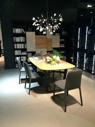 Chandelier Above Dining Table Swag Chandelier Dining Table Ohfudge Info
