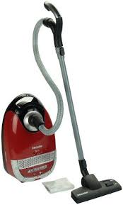 miele vaccum miele canister vacuum pretend play for children with toys