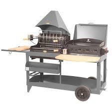 cuisine barbecue gaz barbecue gaz et plancha luxe étourdissant barbecue mixte grill et