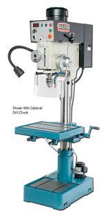 baileigh dp 1500vs variable speed pillar drill press with auto