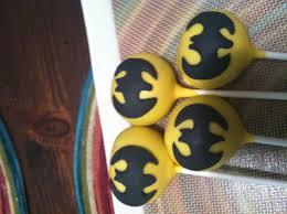 holy cake pops batman thanks friandise pastries sweet