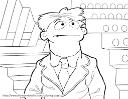 swedish chef muppets printable coloring page sheet