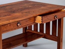 Craftsman Coffee Table Craftsman Library Table Artwood Gallery Bellingham Wa