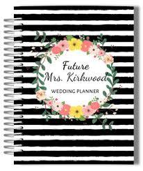 custom wedding planner wedding planner book personalized wedding planner bridal planner