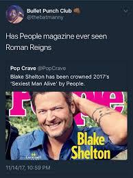 Blake Shelton Meme - literally everyone could think of better choices than blake shelton
