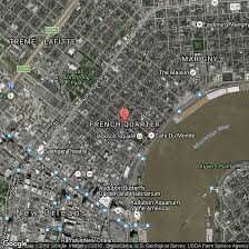 Street Map New Orleans French Quarter by Hotels Within Walking Distance Of Bourbon Street In New Orleans