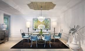 Hollywood Regency Furniture Style Tips  Advice - Regency dining room