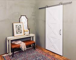 the contemporary barn door is a more modern twist on the popular 3