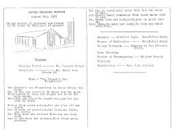 christian thanksgiving prayer 1967 ground breaking service bulletin u2013 christ alliance church