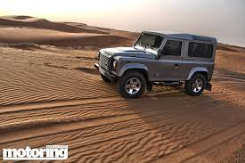 land rover dubai 2013 land rover defender 90 review motoring middle east car