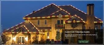 red and white bulb christmas lights outdoor christmas lights ideas for the roof roof light candy