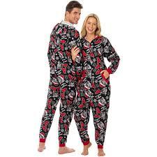 onesie fleece one pajama meow sonesie fleece