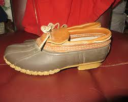ll bean duck boots womens size 9 ll bean boots etsy