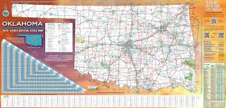 map of oklahoma large detailed road map of oklahoma