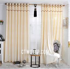 Patterned Window Curtains Beige Patterned Unique Embossed Chic Modern Window Curtains