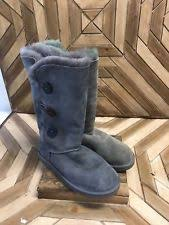womens ugg triplet boot ugg bailey button triplet ebay