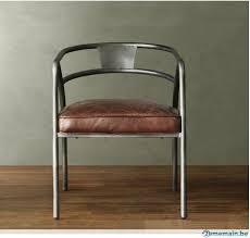 cuir pour bureau chaise cuir vintage chaise design pour les restaurants chaise
