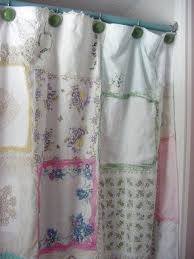 Burlap Shower Curtains Shabby Chic Shower Curtains Foter