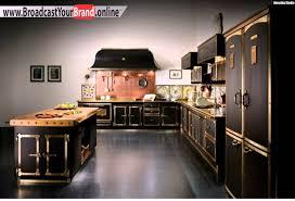kche zu dunklem boden schwarze küche landhaus look dunkler boden