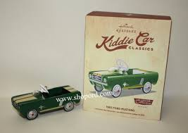 hallmark 2015 kiddie car classics 1965 ford mustang keepsake