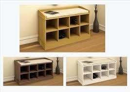 white shoe storage bench seat kempton shoe bench oak walnut or