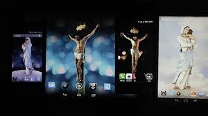 3d jesus christ live wallpaper free animated mobile app youtube