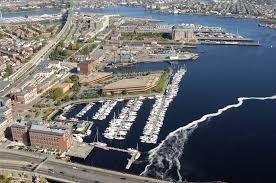 Boston Harbor Hotel Map by Constitution Marina Boston Harbor In Boston Ma United States
