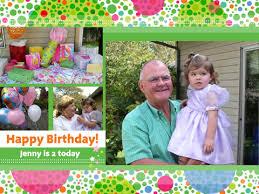 birthday collages smilebox