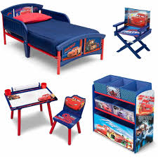 Bedroom Sets In A Box Disney Cars Room In A Box With Bonus Chair Walmart Com