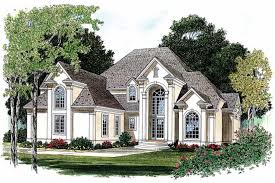 neoclassical home plans dramatic transitional style home hwbdo07029 neoclassical from