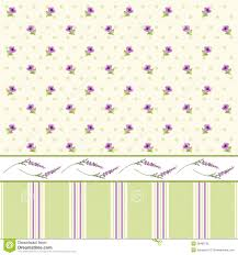 Shabby Chic Style Wallpaper by Floral Wallpaper 3 Royalty Free Stock Photo Image 38485735